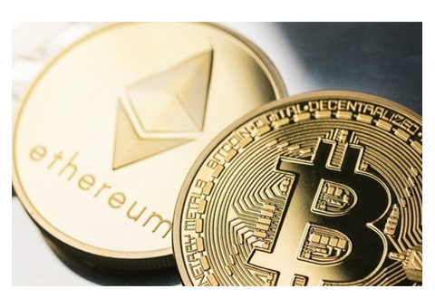 Bitcoins/Cryptocurrency Investments.