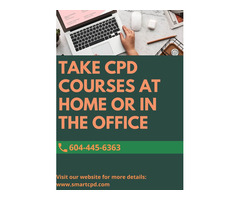 Online Continuing Professional Development(CPD) Course Surrey, BC