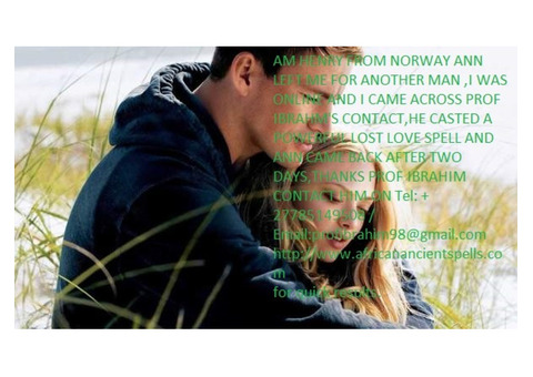 Real Powerful Love Spells That Work Overnight : +27785149508